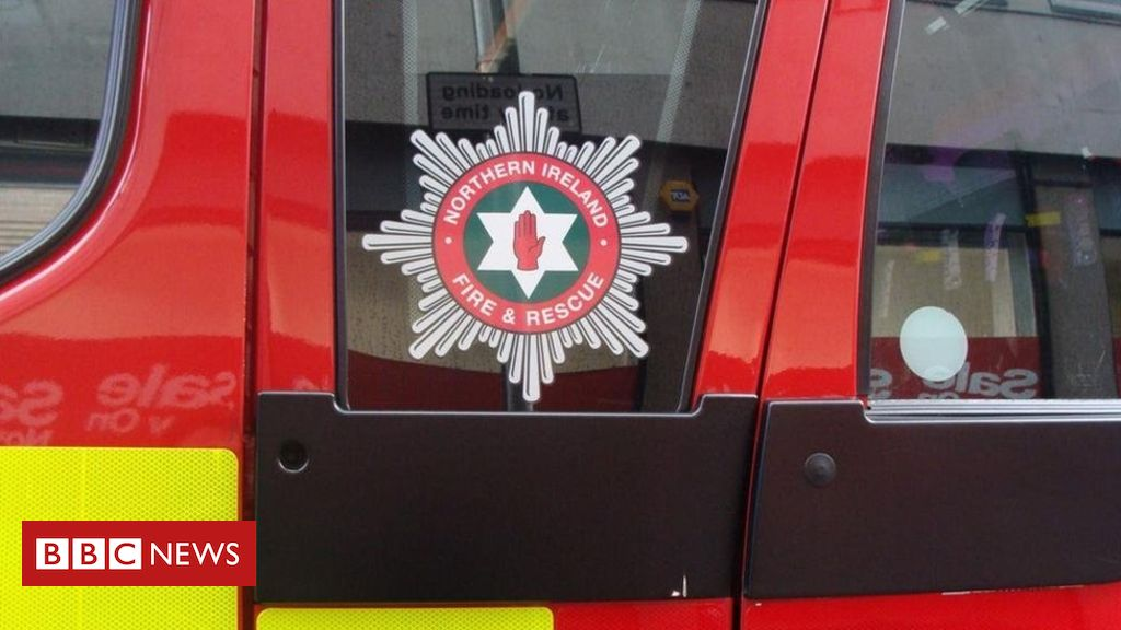 Bangor flat fire: Homes evacuated as woman treated at scene