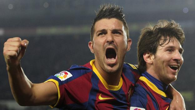 David Villa: Ex-Barcelona striker was 『90% sure』 of Arsenal move