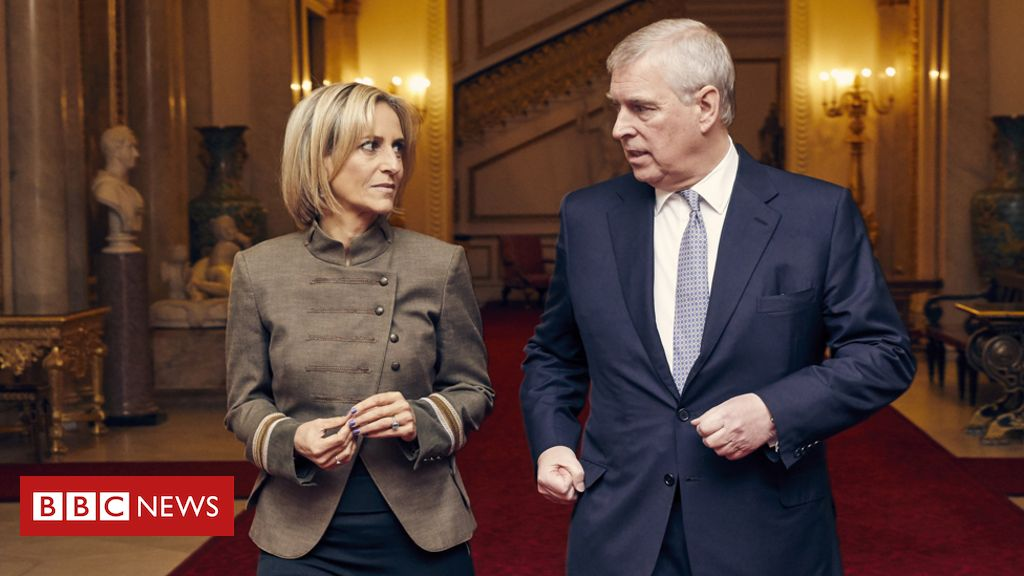 Prince Andrew interview wins Maitlis RTS award