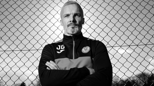 St Mirren: Jim Goodwin on being a 『sore loser』, selling chocolate and his football vision