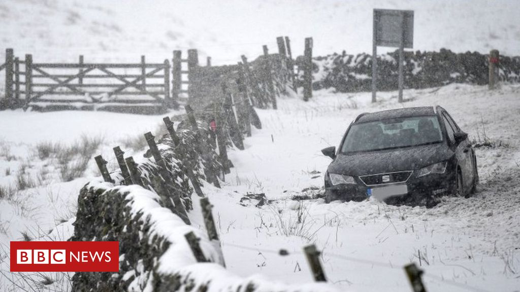 Widespread icy conditions forecast for Scotland