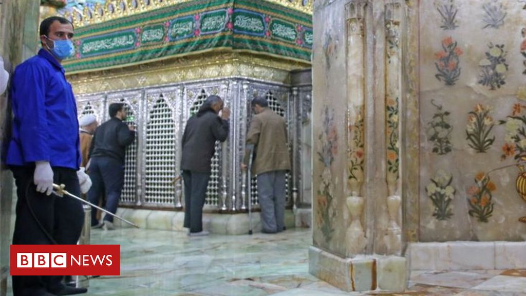 Coronavirus: Iran holy-shrine-lickers face prison