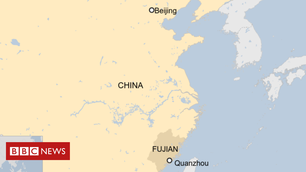 China hotel collapse: Dozens trapped in Quanzhou wreckage