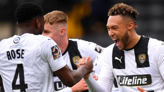 Notts County 4-0 Eastleigh