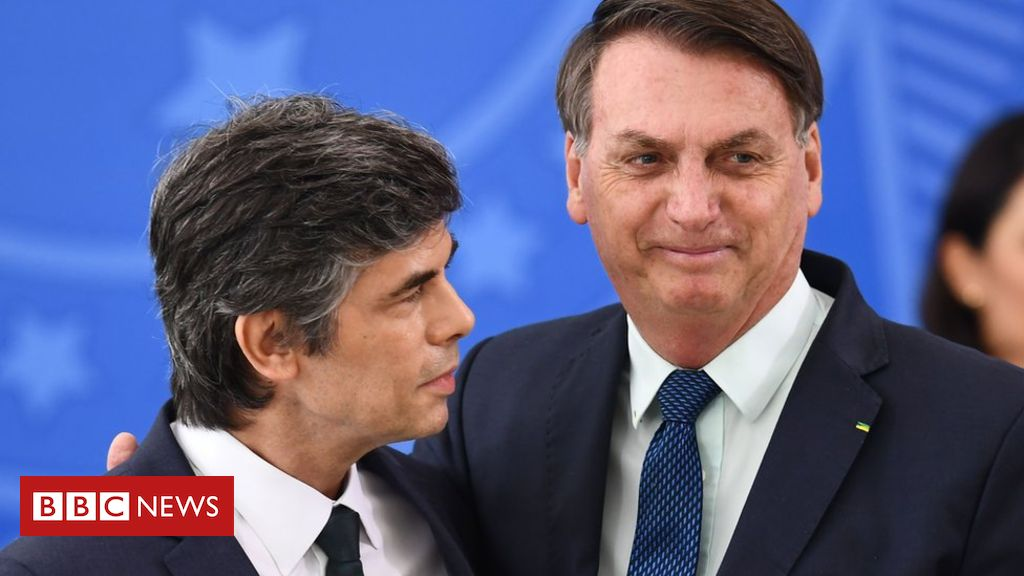 Brazil loses second health minister in a month
