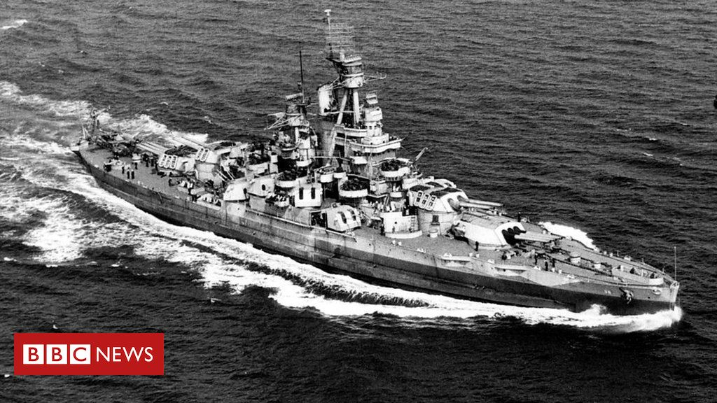 World War Two US Navy ship discovered in Pacific Ocean