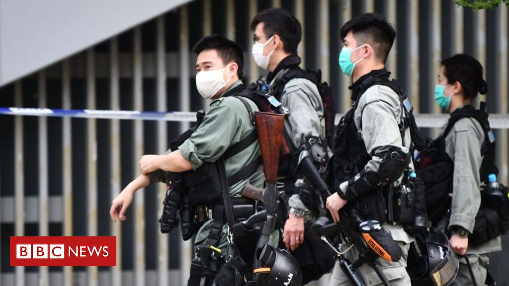 Hong Kong ramps up security ahead of controversial bill reading