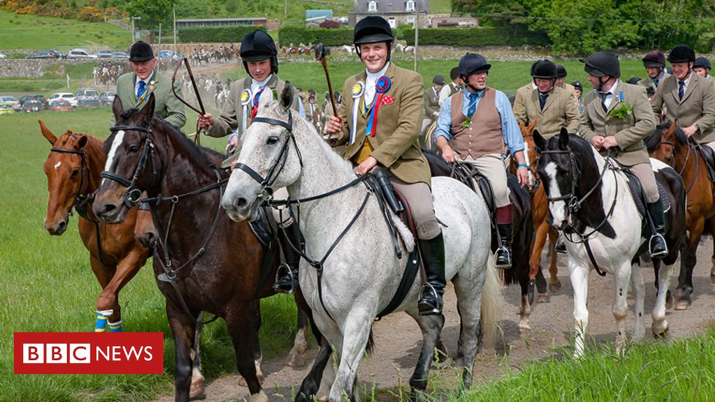 Coronavirus in Scotland: Hawick Common Riding goes online