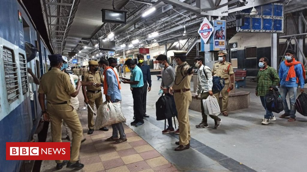 India coronavirus lockdown: Outrage as migrants told to pay own fare