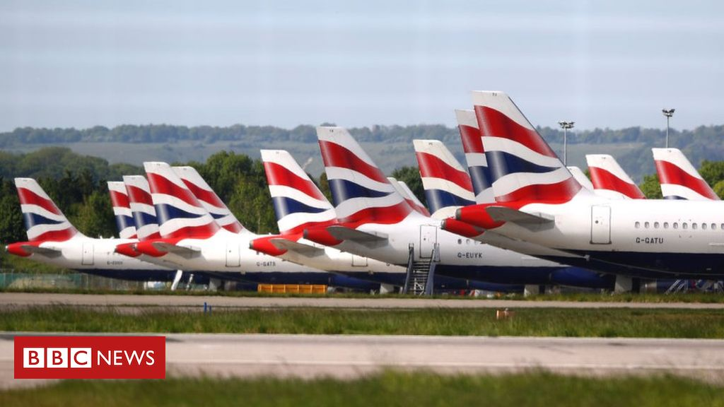 Coronavirus: British Airways owner hopes to revive flights in July