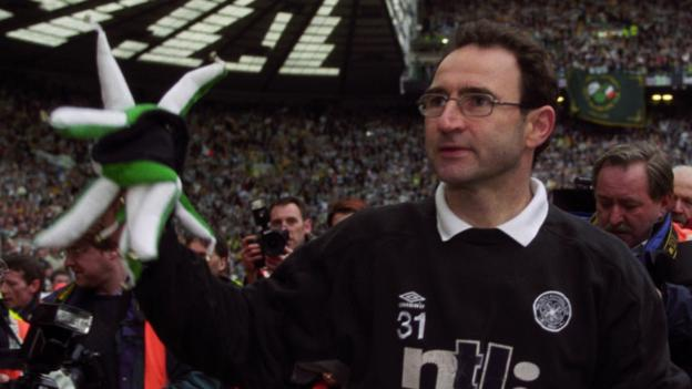 On this day: Martin O'Neill's Celtic revolution 20 years on