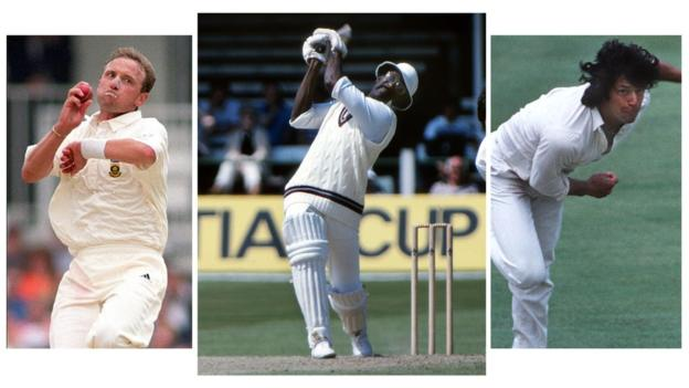 Who is English county cricket's greatest ever overseas player?