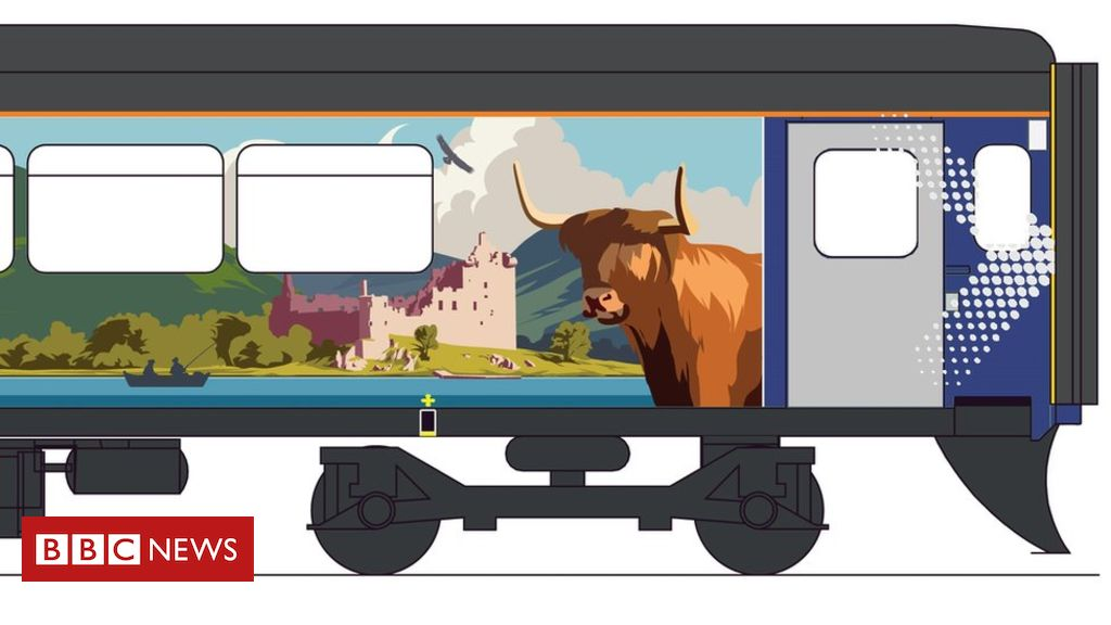 Active travel carriage designed for Highland line