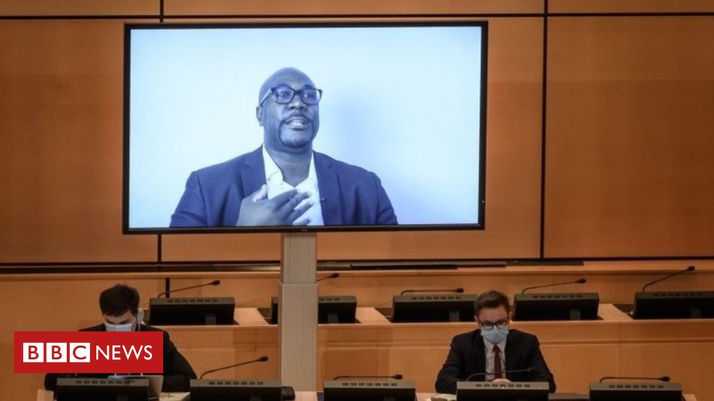 George Floyd protests: Brother makes impassioned plea to UN