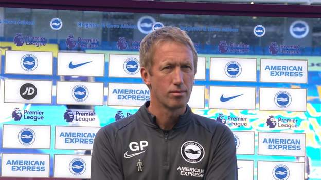Brighton & Hove Albion 2-1 Arsenal: Graham Potter hails huge result