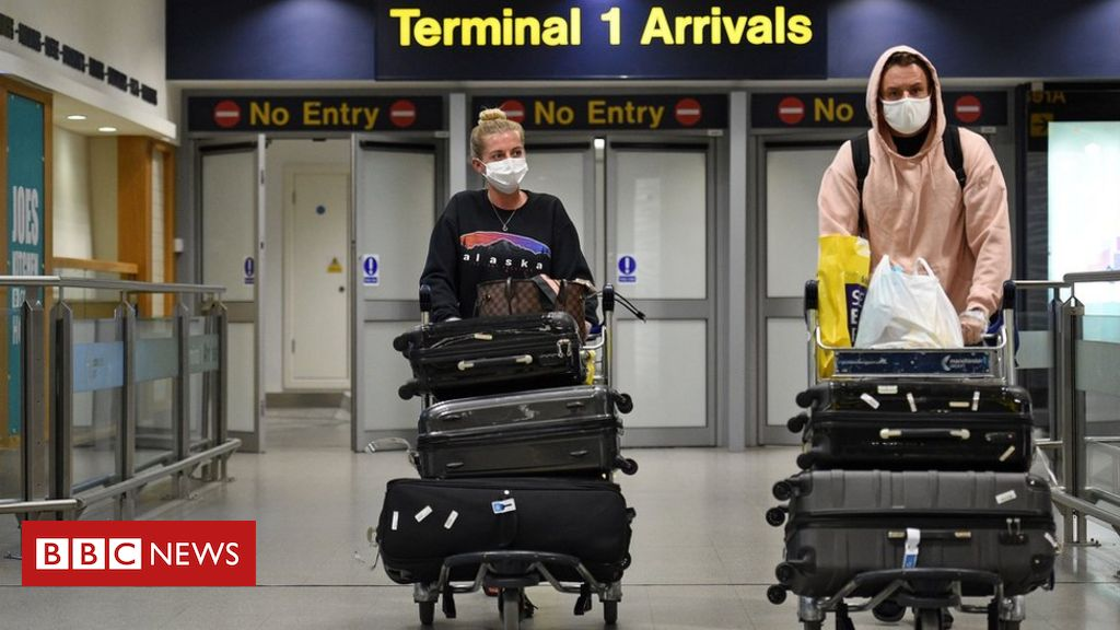 Coronavirus: England to scrap quarantine for arrivals from 『low risk』 countries