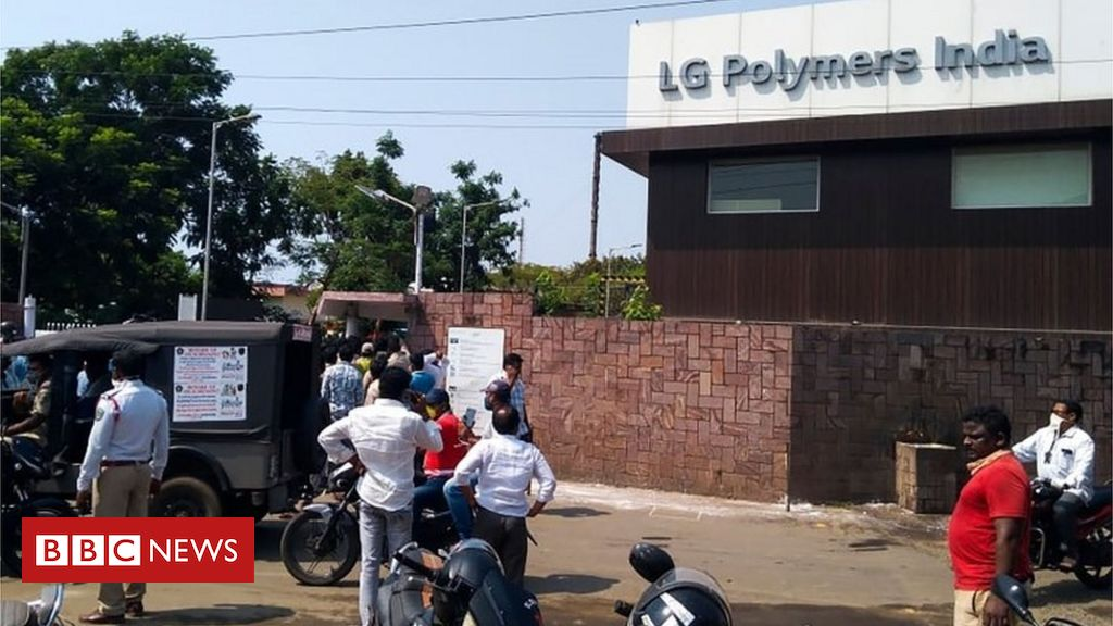 LG Polymers: South Korean CEO held over fatal India gas leak