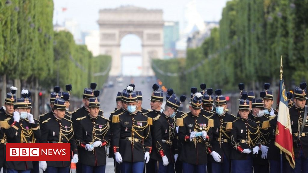 Bastille Day: France honours health workers amid pandemic