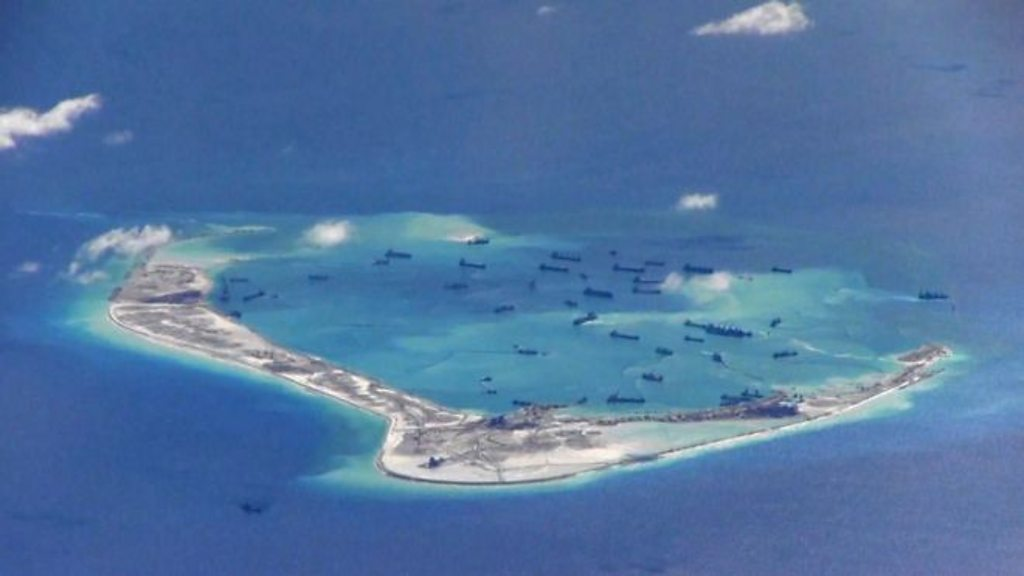 South China Sea: What's China's plan for its 『Great Wall of Sand』?
