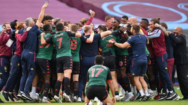 What happened on the final day of the 2019-20 Premier League season?
