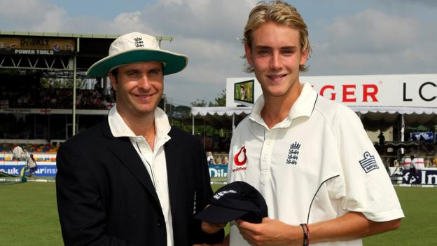 Stuart Broad: Chris Broad, Alastair Cook & Michael Vaughan on England's 500-wicket bowler