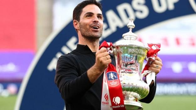 FA Cup win shows Arsenal can win titles, says Mikel Arteta