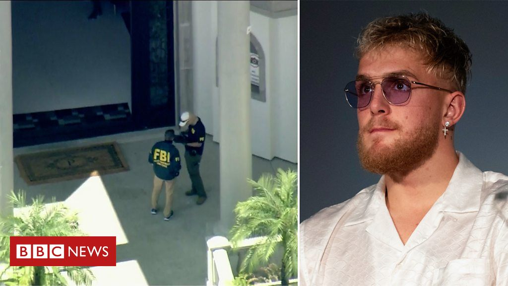 FBI raids home of YouTube star Jake Paul