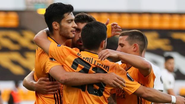 Wolverhampton Wanderers: Raul Jimenez eyes Europa League success after reaching quarter-finals