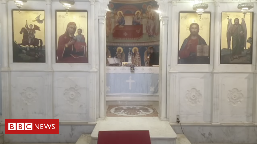 Footage from a church mid-explosion brings hope to Beirutis