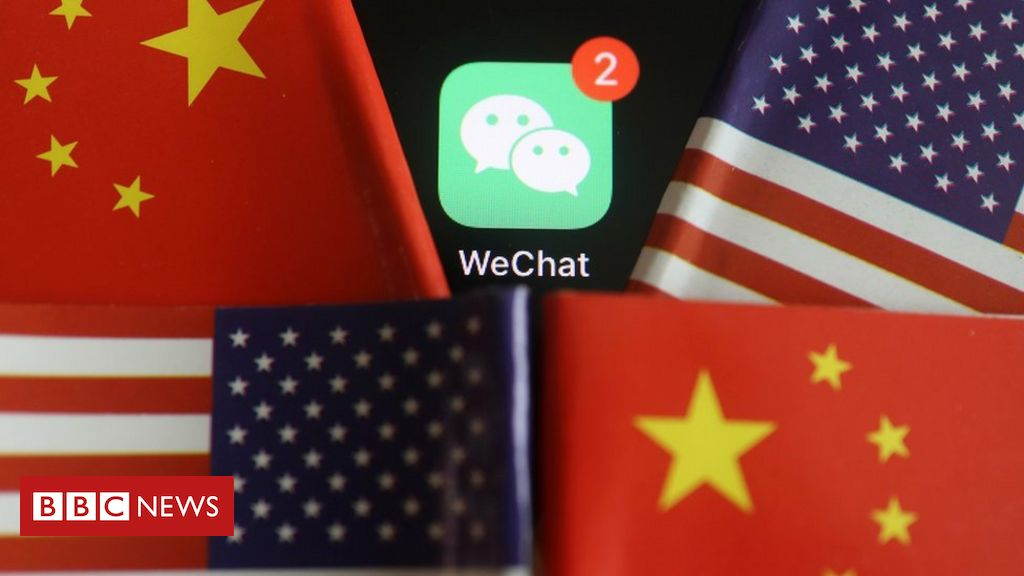Trump's WeChat ban shocks Chinese abroad