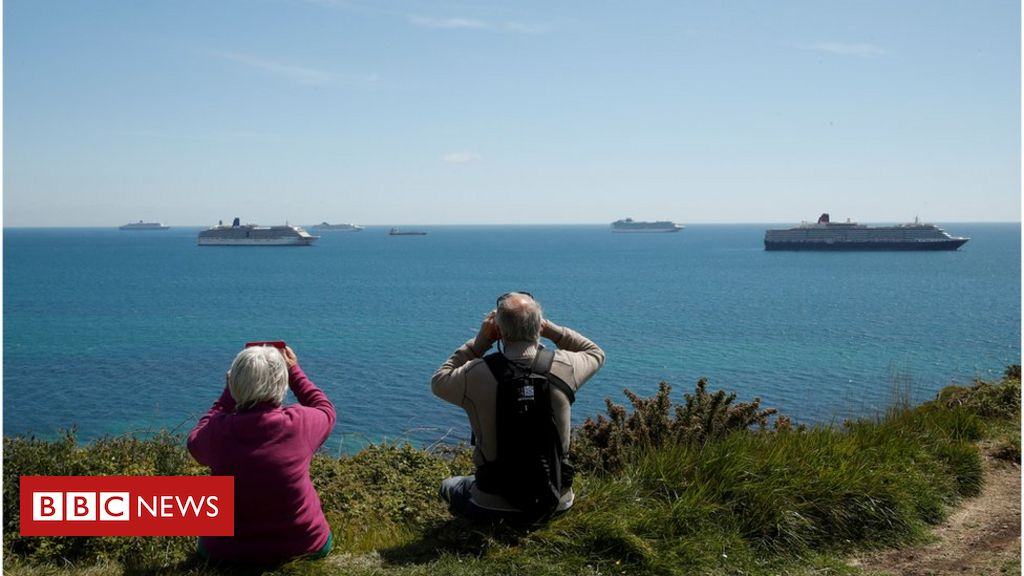 Coronavirus: How ghost cruise ships became a summer tourist attraction