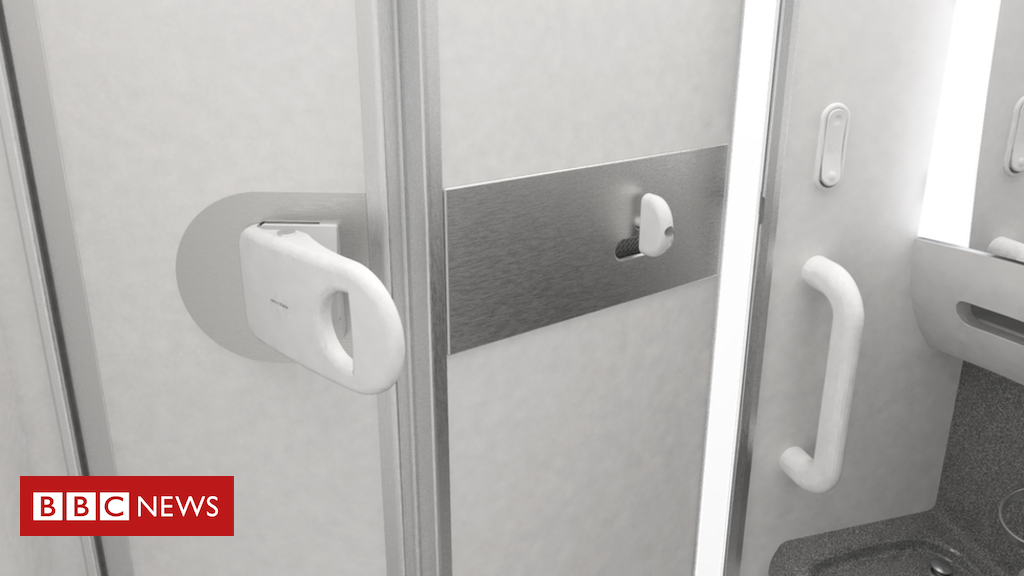 Japanese airline ANA trials germ-busting 『elbow doorknob』