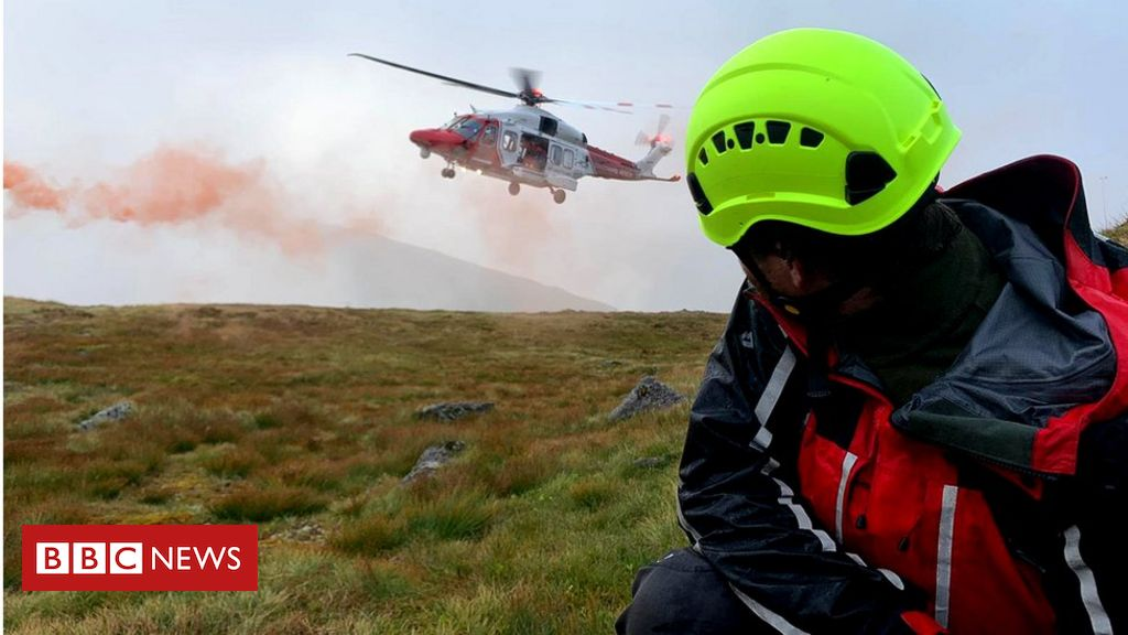 Charity Cairngorms mountain walk ends in helicopter rescue