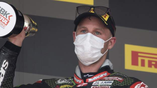World Superbikes: Jonathan Rea extends championship lead as Scott Redding crashes out