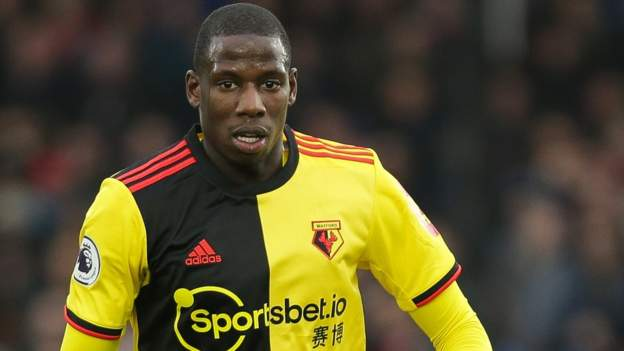 Abdoulaye Doucoure: Everton sign Watford midfielder on three-year deal