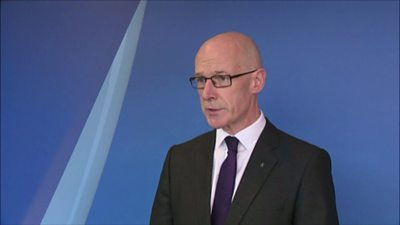 Coronavirus: John Swinney on restrictions in Lanarkshire