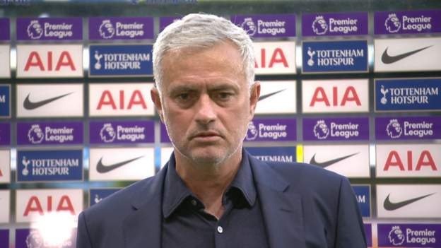 Tottenham Hotspur 0-1 Everton: Jose Mourinho happy Amazon cameras have gone