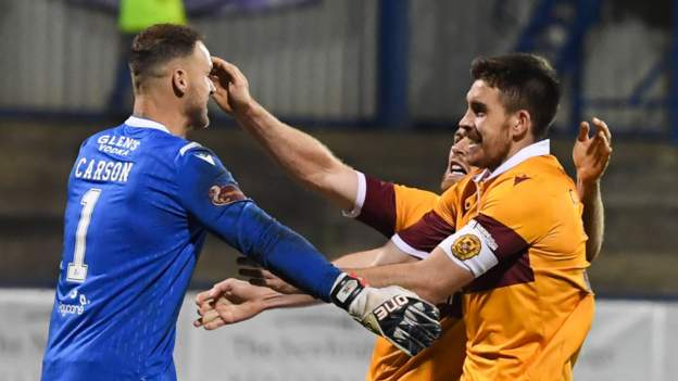 Coleraine 2-2 Motherwell: Scots edge through on penalties