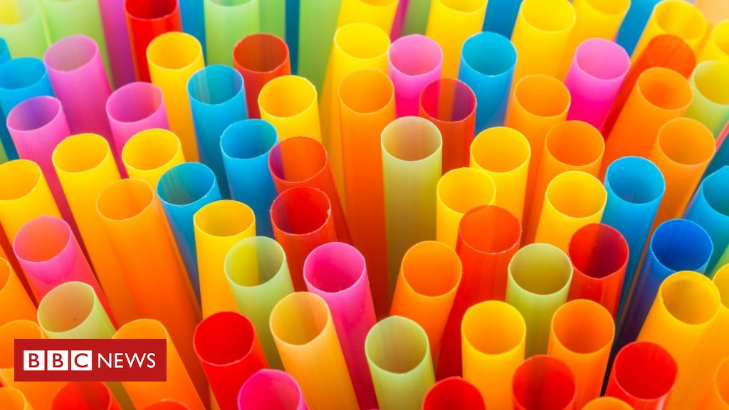 Plastic straw ban in England comes into force